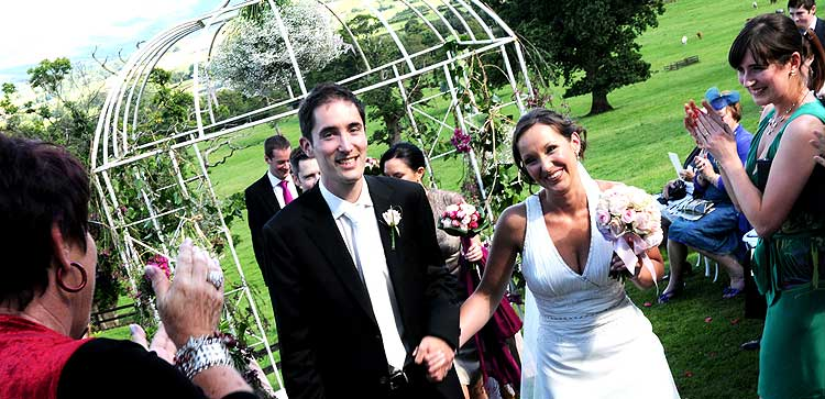 ballybeg garden wedding